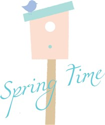 Spring Time print art