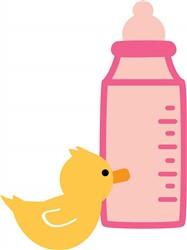 Baby Bottle print art