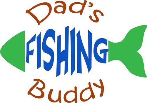Download Dads Fishing Buddy Print Art Animals Print Art At Embroiderydesigns Com