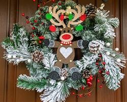 Hanging FSL Reindeer
