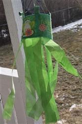 Frog Wind Sock