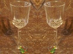 Multi Holiday Wineglass Markers