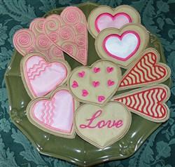 Valentine Cookie Applique