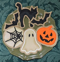 Halloween Cookies Applique