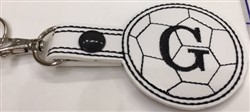 "How to make a Soccerball Keyfob 4"" x 4"" Hoop"