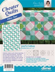 Cheater Quilts Ohio Star
