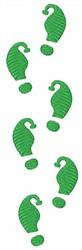 Little Elf Footprints embroidery design