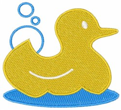 Yellow Ducky embroidery design