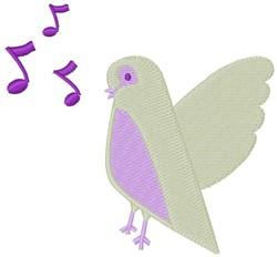 Four Calling Birds embroidery design