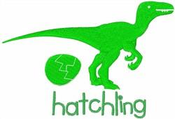 Raptor Hatchling embroidery design
