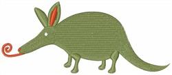 Aardvark embroidery design