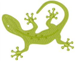 Newt Salamander embroidery design