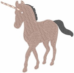 Unicorn embroidery design