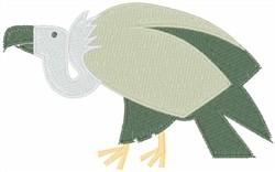 Vulture embroidery design