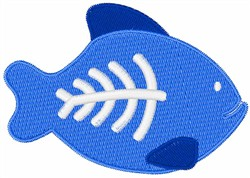 X-Ray Fish embroidery design