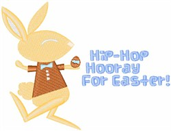 Hip-Hop Hooray embroidery design