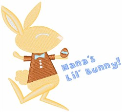Nanas Lil Bunny embroidery design