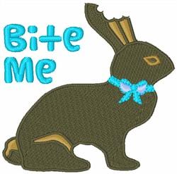 Bite Me Bunny embroidery design