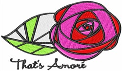 Thats Amore embroidery design