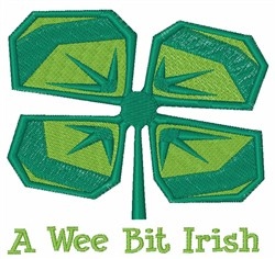 Wee Bit Irish   embroidery design