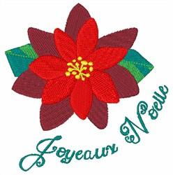 Joyeaux Noelle embroidery design