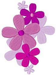 Pretty Flowers embroidery design
