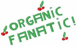 Organic Fanatic Cherries embroidery design