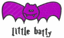 Little Batty embroidery design
