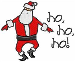 Santa Claus Ho Ho Ho embroidery design