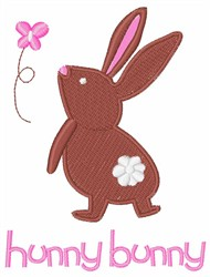 Hunny Bunny embroidery design