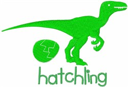 Raptor Hatchling embroidery design