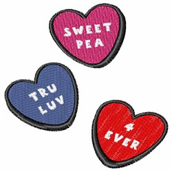 Valentines Day Candy   embroidery design