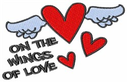 On The Wings Of Love embroidery design