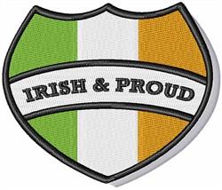 Irish & Proud embroidery design