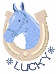 Lucky Horse embroidery design
