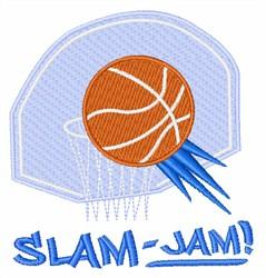 Slam Jam embroidery design