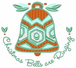 Bells Are Ringing embroidery design