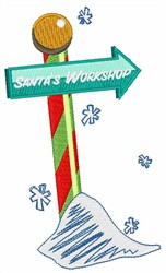 Santas Workshop embroidery design