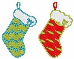 Pet Stockings embroidery design