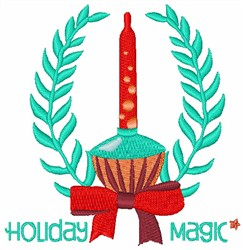 Holiday Magic embroidery design