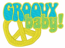 Groovy Baby embroidery design