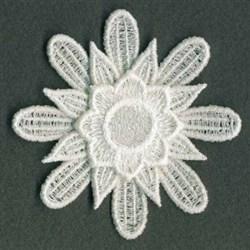 3D FSL Floral embroidery design