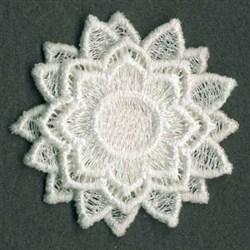 FSL 3D Flower embroidery design
