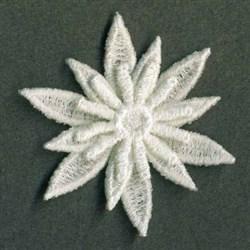 3D FSL Cute Flower embroidery design