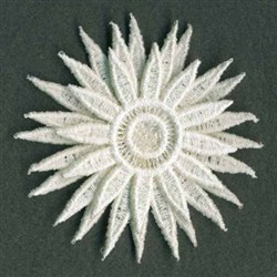 3D FSL Daisy embroidery design