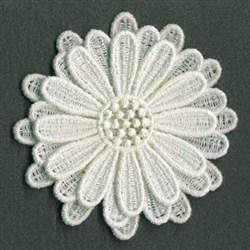 3D FSL Delicate Flower embroidery design