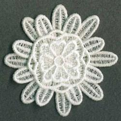 FSL 3D Floral embroidery design