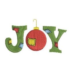 Patchwork Christmas Joy embroidery design