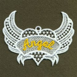 FSL Angel Wings embroidery design
