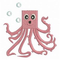 Ocean Geometry Octopus embroidery design